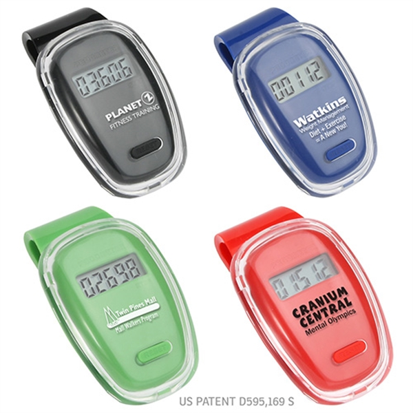 Printed Fitness First Pedometer