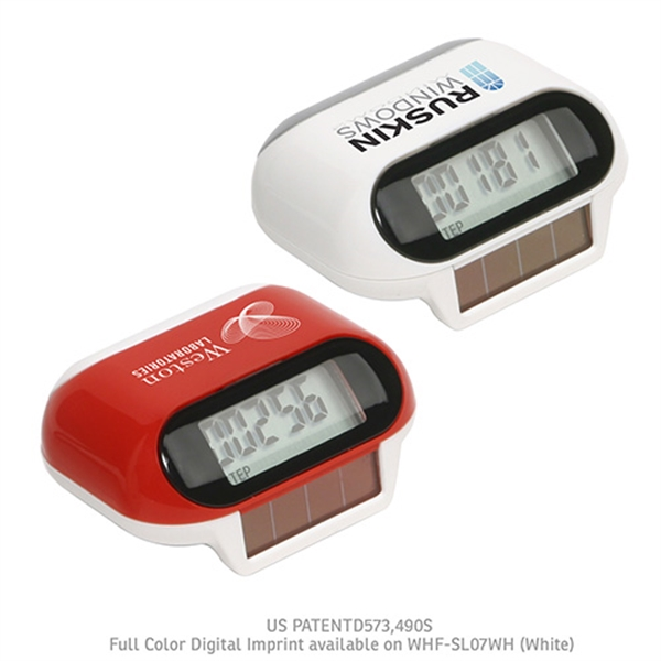 Printed Solar Powered Pedometer