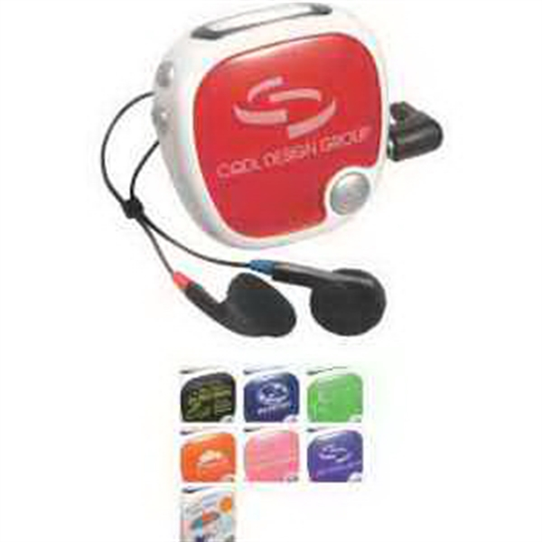 Customized Walk N' Roll Radio Pedometer