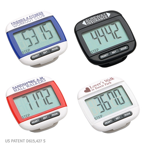 Customized Widescreen Walker Pedometer