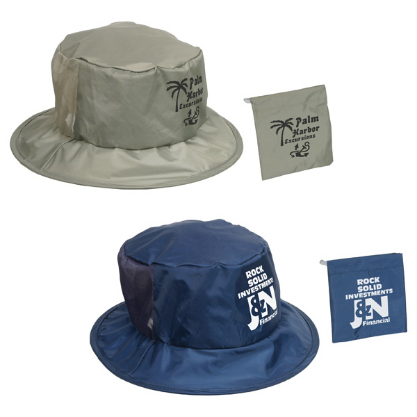 Personalized Fold N' Go Fisher Hat