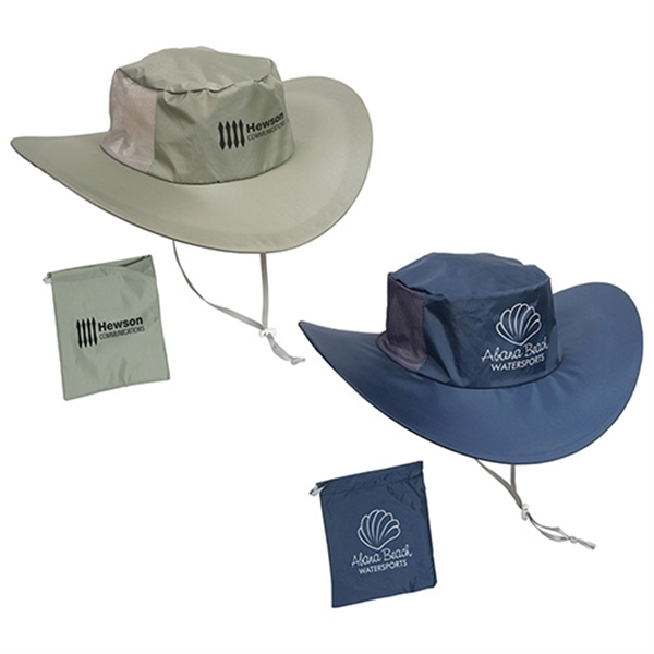 Imprinted Fold N' Go Outdoor hat