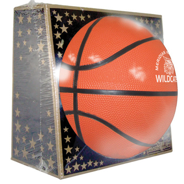 Personalized Full Size Rubber Basketball