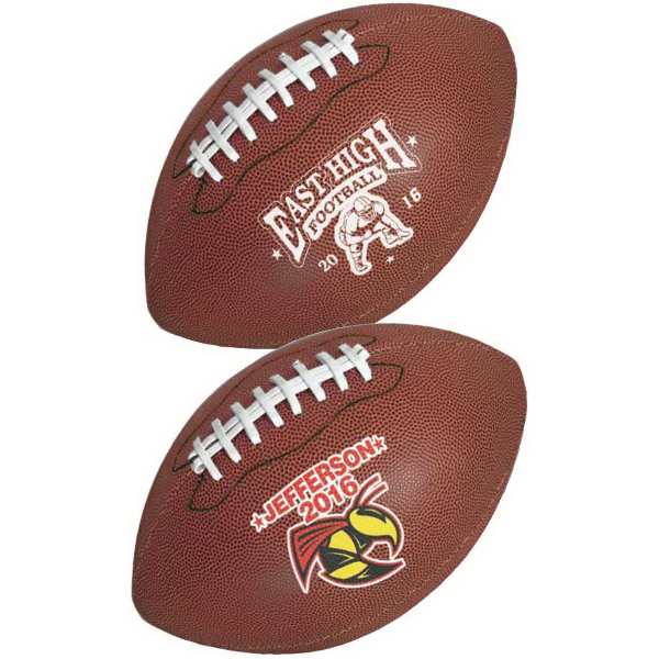 Personalized Full Size Synthetic Leather Football