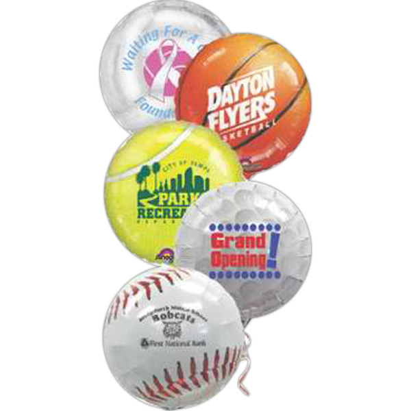 Customized Sport Foil Balloon - Closeout Sale