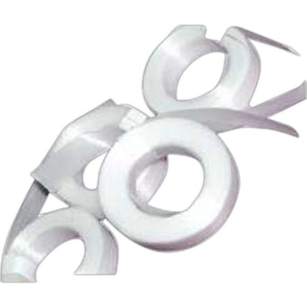 Customized White Cut Ribbon