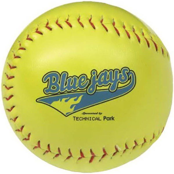 Custom Optic Yellow Synthetic Leather Softball