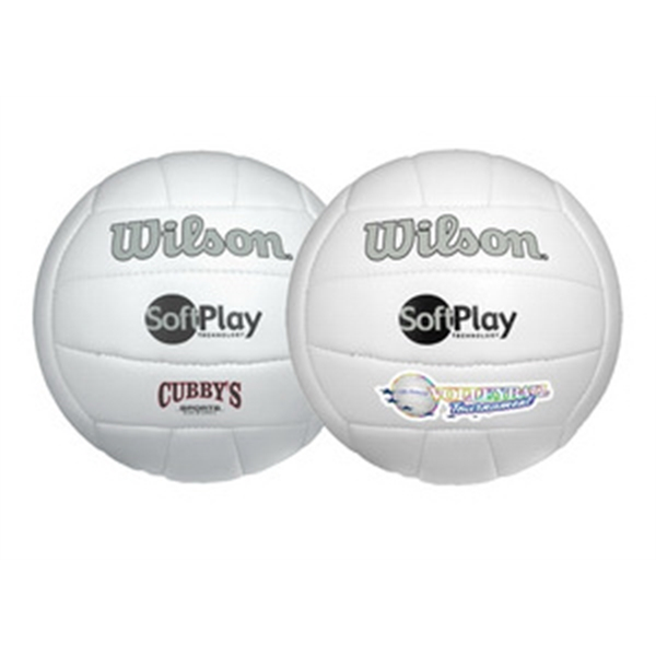 Customized Wilson (R) Premium Synthetic Leather Volleyball