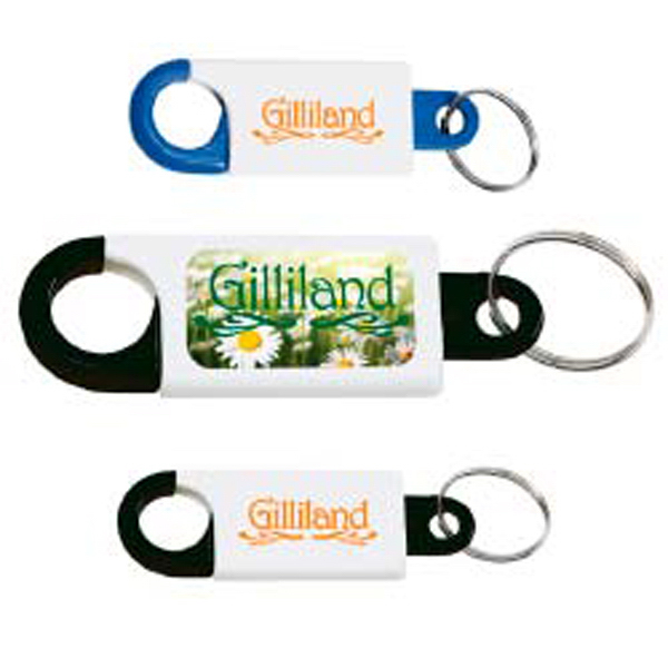 Personalized Snap-N-Lock Key Tag