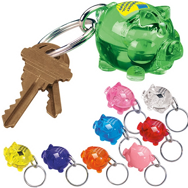 Custom The Bank'r Keytag