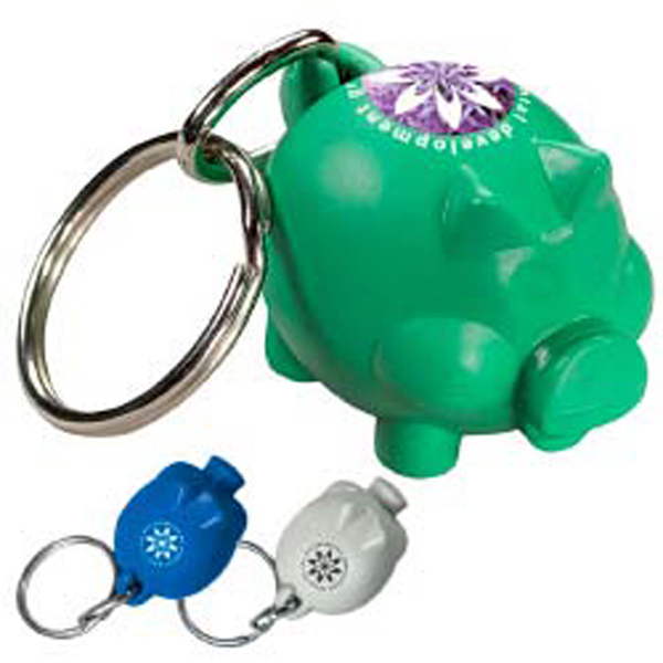 Personalized Friendly Bank'r Keytag