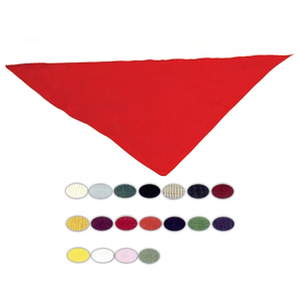 Imprinted Triangular Bandana