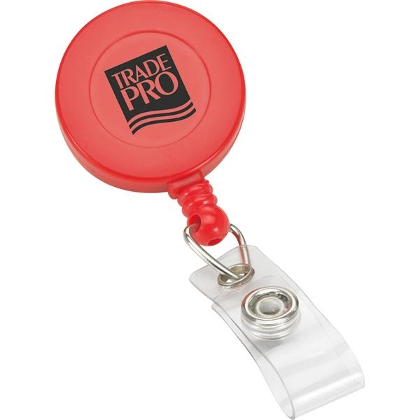 Promotional Round Retractable Badge Reel