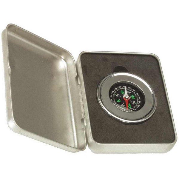 Imprinted SilverExecutive Compass
