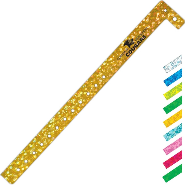 Promotional Liquid Glitter Wristband