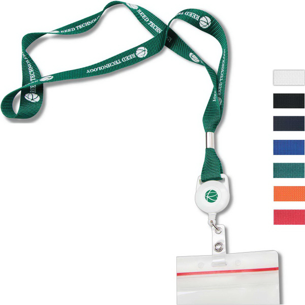 Personalized Nylon Web Lanyard