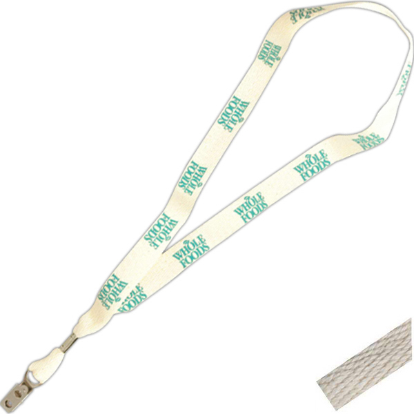 Promotional Organic Cotton Lanyard