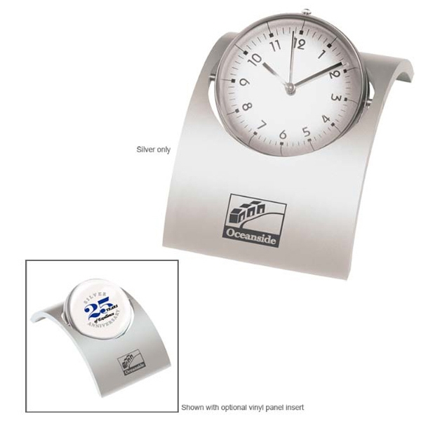 Promotional Spinning Desk Clock