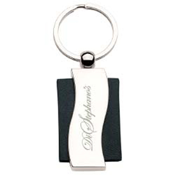 Promotional Allura leather key holder