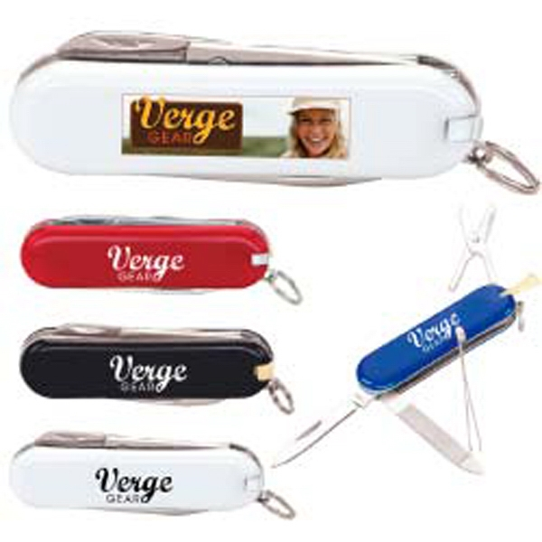 Personalized Six-Function Pocket Knife