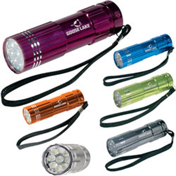 Imprinted Pocket Aluminum LED Flashlight