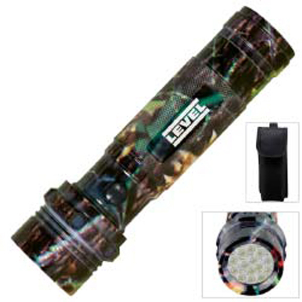 Customized Camouflage Aluminum LED Flashlight