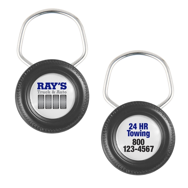 Printed Big Wheel Showring II Key Tag