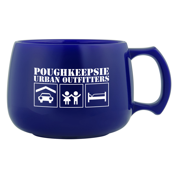 Customized Souper Mug 12 oz capacity