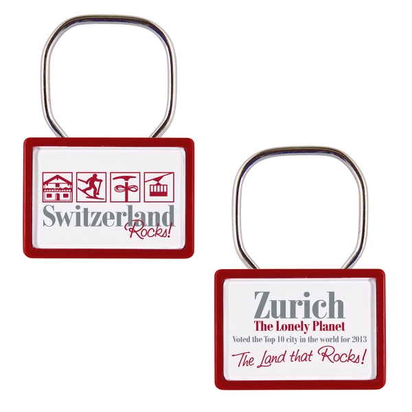 Printed Letter Perfect Showring Key Tag