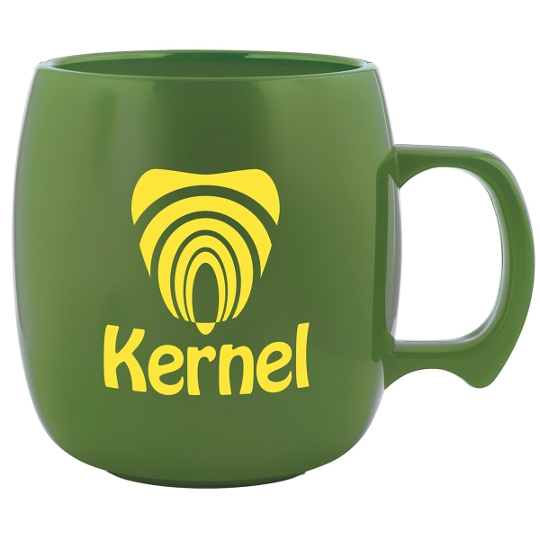 Promotional Nature Ad (TM) Corn Mug (TM) Koffee Keg
