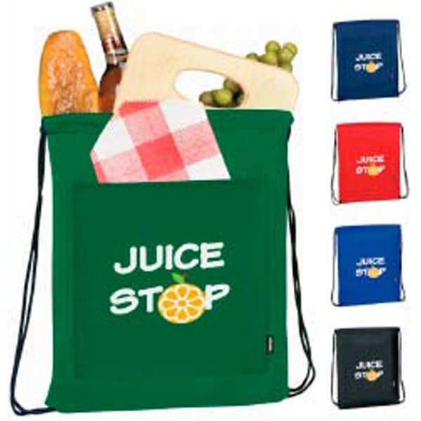 Personalized KOOZIE® Drawstring Backpack Kooler