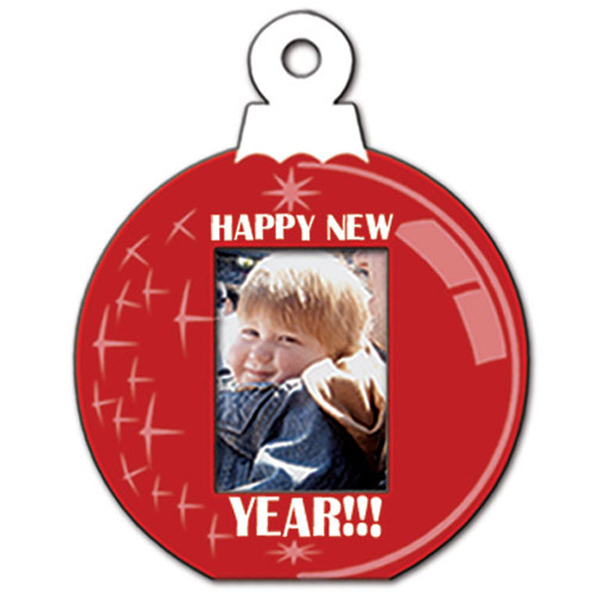 Imprinted Small Frame Ornament