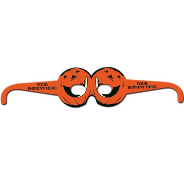Promotional Round Pumpkin Glasses