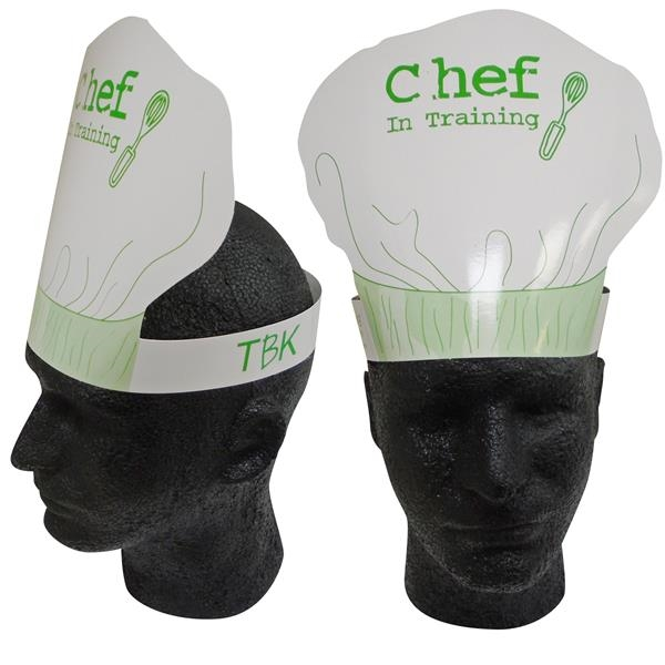 Imprinted Chef's Hat Headband