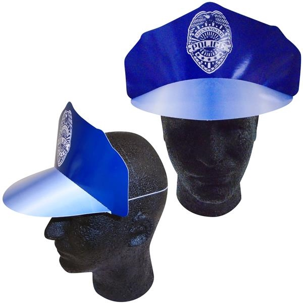 Personalized Police Hat with Elastic Band
