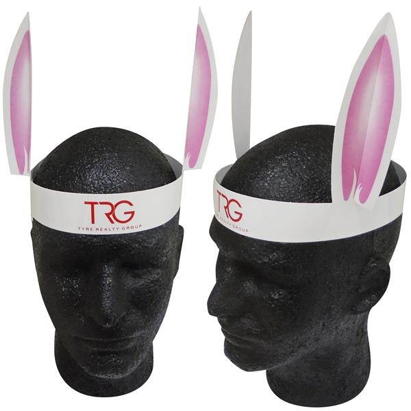 Personalized Rabbit Ears with Elastic Band
