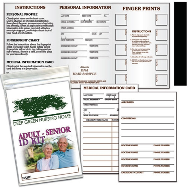 Promotional Adult-Senior ID Kit
