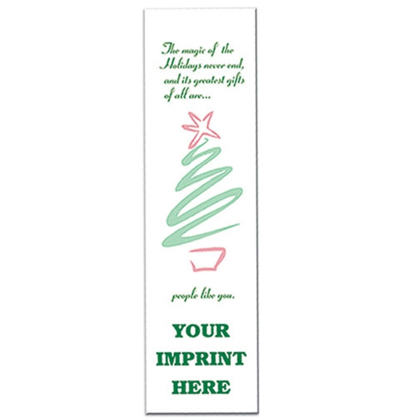 "Custom 2"" x 7"" Tree Bookmark"