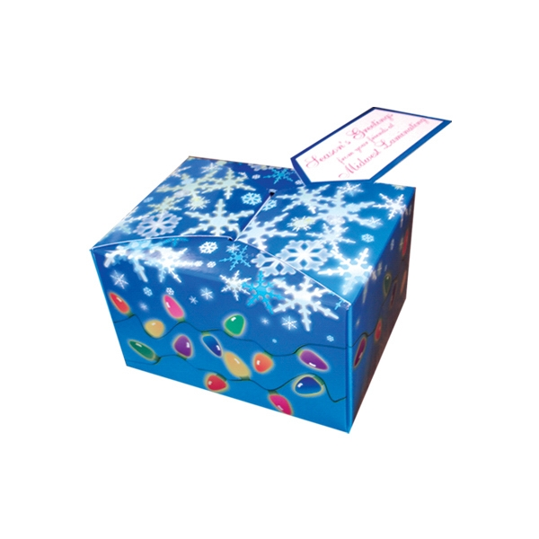 Custom Lights and Snow Gift Box