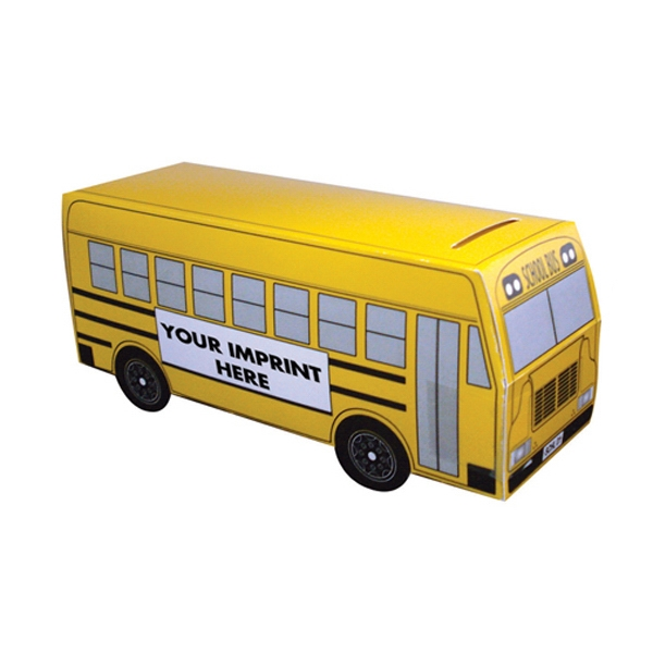 Personalized School Bus Bank