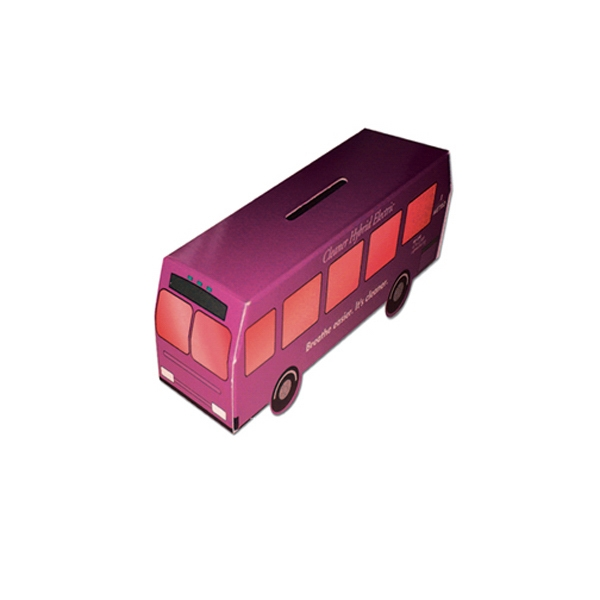 Personalized Mini Bus Bank