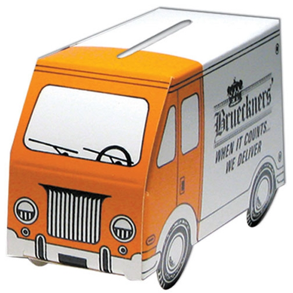 Imprinted Small Truck Bank