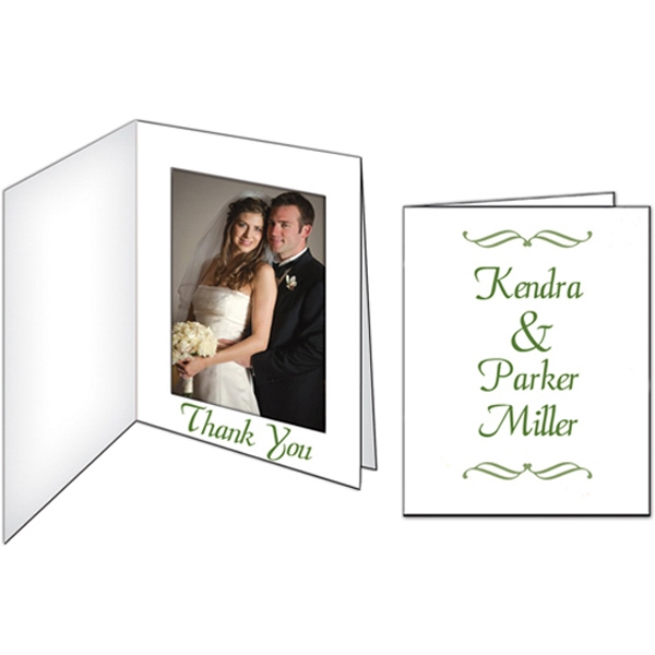 Printed Wedding Photo Frame/Thank You