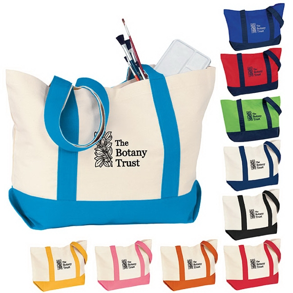 Imprinted Medium Snap Tote
