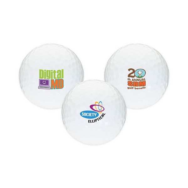 Personalized White Golf Ball