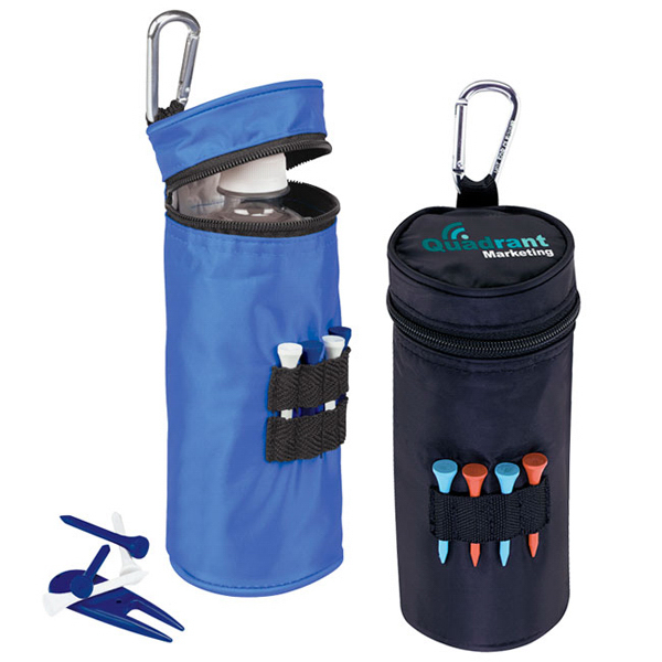 Promotional Water Bottle Cooler With Tees - Value Pak