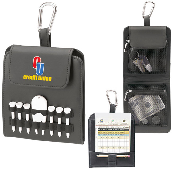 "Custom Folding Golf Caddy - Value Pak - 2-1/8"" Tees"