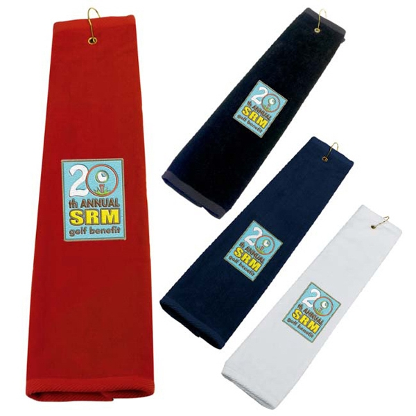 Custom Golf Tri-Fold Towel