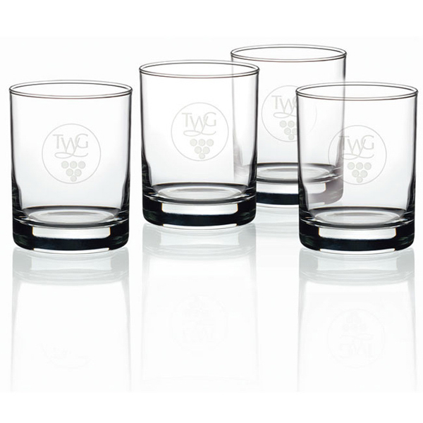 Personalized Double Old-Fashioned - Set of 4 - 14 oz ea