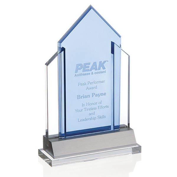 Custom Indigo Peak Award